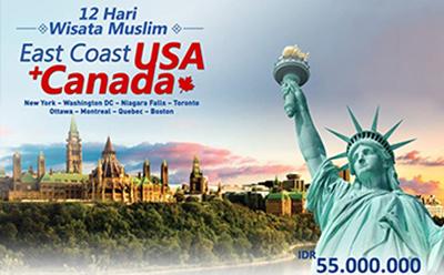 East Coast USA  Canada