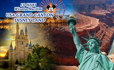 USA, Grand Canyon  Disney Land